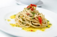 Спагетти с чесноком, оливковым маслом и перцем|escape:'html'