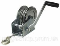 Лебедка барабанная ручная 450кг (1000lbs), стальной трос Jobi Profi 19796 Код:133791626