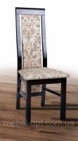 Стул деревянный буковый с мягкими спинкой и сиденьем Катрин, венге шоколад, ткань Аларма1 escape:'html'
