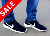 Кроссовки мужские Nike Roshe Run черные|escape:'html'