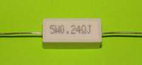 Резистор керамический 5 W 0,24 R|escape:'html'