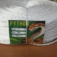 Веревка из полипропилена «Pithon» 4mm 200m
