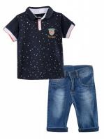 Комплект с бриджами на мальчика, р.110-128|escape:'html'