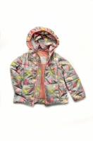 Куртка-жилет (трансформер) для девочки «Зонтики» escape:'html'