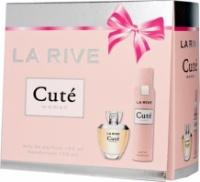 La Rive Cute Подарочный набор для женщин (Парфюмированная вода 100мл  Дезодорант 150мл)