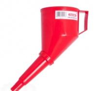 Лейка автомобильная Tom Par пластиковая с сеткой Red