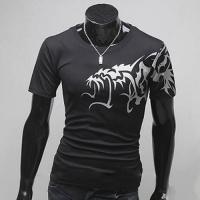 Футболка дракон, мужская футболка,