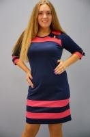 Стильное женское платье от 58 до 64 размера|escape:'html'
