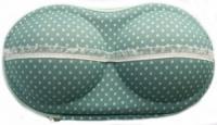 Органайзер - сумочка для бюстгальтеров (с сеточкой), мелкий горошек