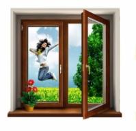 Цены на деревянные окна в Кривом Роге. Деревянные евроокна escape:'html'