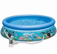 Надувной бассейн Intex Океанский Риф 366х76 см  (28136)|escape:'html'