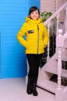 Детская осенняя,демисезонная куртка-парка на девочку.30-40р.|escape:'html'