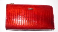 Кошелек женский H.Verde (кожа), 2596 - 44 Красный, размер 190*100*20|escape:'html'