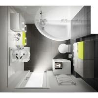 Акриловые ванны Cersanit Nano (Правая) 1400x750х420 escape:'html'