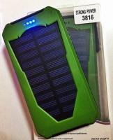 Solar Power Bank 50000mAh + фонарь 10 LED escape:'html'