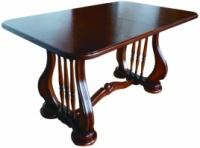 Стол деревянный раскладной Лира темный орех 140(+50)х85х75 см escape:'html'