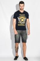 Шорты мужские джинс темные 102V005-3 escape:'html'