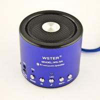 Bluetooth колонка WS-Q9 (синий)|escape:'html'