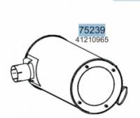 Глушник IVECO EUROSTAR CURSOR/EUROTECH CURSOR/STRALIS 41210965, 28450 (вироб-во HOBI) escape:'html'