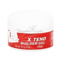 BLAZE X-Tend Builder Gel - УФ гель конструирующий средний, Clear, 15 мл|escape:'html'