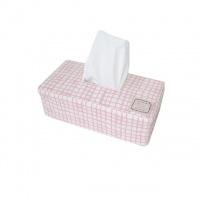 Чехол на салфетницу Прованс#AndreTAN Розовая клетка escape:'html'