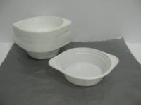 Одноразовая тарелка для первых блюд   обьем 500мл Эко  (100 шт)