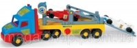 Игрушечная машинка Тягач-эвакуатор для спортивных автомобилей серии Super Truck Wader (36620) Код:1207 escape:'html'