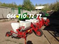 Сеялка СУПН-8М для семян кукурузы, подсолнечника, клещевины, сорго, сои, а также семян кормовых бобов, фасоли, люпина