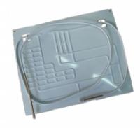 Испаритель к бытовым холодильникам проходной 2к ( 0,5+0,5м) 45\40|escape:'html'
