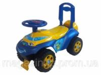 Іграшка дитяча для катання «;Машинка»; музична 0142/04RU Код:09001424 escape:'html'