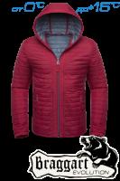 Куртка демисезонная Braggart Evolution - 1295 красная
