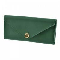 Женское портмоне темно-зеленое escape:'html'