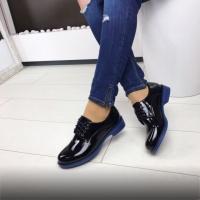 Женские туфли с синей подошвой 41р escape:'html'