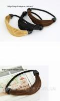 Резинка  «Стайл» под цвет волос, белая.|escape:'html'