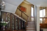 Пространство под лестницей Кривой Рог шкаф, полки, двери (дерево)