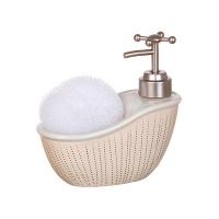 Дозатор для мыла с мочалкой Роскошная ванна|escape:'html'