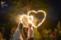 Свадебное огненно-пиротехническое шоу! 3 артиста, 12 минут. Пакет PLATINUM
