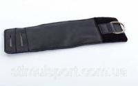 Манжет (ремень) для силовой тяги на голень и запястье AS3001 ANikele Strap (PVC, металл,р-р 36х10,5см) escape:'html'