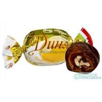 Шоколадные конфеты с дыней и грецким орехом 500г