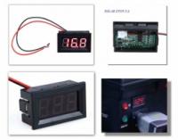 Вольтметр встраиваемый, измерение напряжения от DC 3,2 – 30 V|escape:'html'