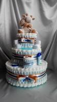 Торт из подгузников « Особенный друг»|escape:'html'