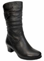 Андриани Зимние женски сапоги на полную ногу, устойчивый каблук|escape:'html'