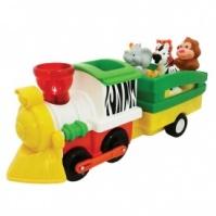 Игровой набор - ПАРОВОЗ ЛИМПОПО (на колесах, свет, звук) от Kiddieland - preschool - под заказ|escape:'html'