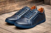 Туфли мужские Falcon Paul Parker, темно-синий (2873-2),  [  40 (последняя пара)  ]