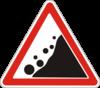 Предупреждающие знаки  1.16(Падение камней) escape:'html'