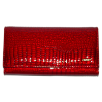 Кошелек женский H.Verde (кожа), 2030-44 Красный, размер 190*95*20 escape:'html'