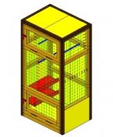 Вольер для птиц  мод.ПО-1.4    «Enclosure for birds mod.ПО-1.4»|escape:'html'