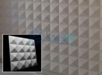 Гипсовые 3Д панели «Пирамиды» от WallDi|escape:'html'
