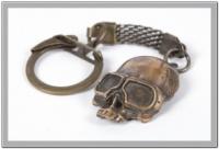 Брелок маска скелета байкер escape:'html'