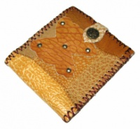 Кошелёк кожаный «Бабочка»|escape:'html'
